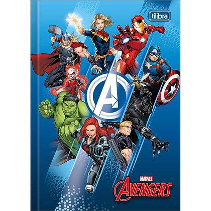 Caderno Brochura Tilibra 80fls Avengers Mod. 1
