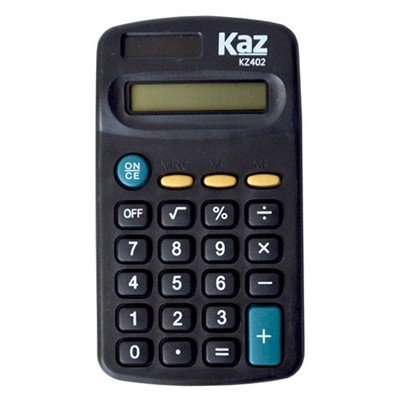 CALCULADORA 8 DIGITOS KAZ