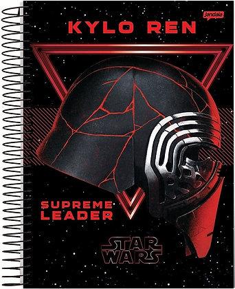 Caderno Star Wars Jandaia Supreme Leader 96fls