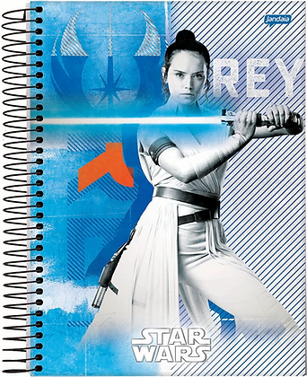 Caderno Star Wars Jandaia Rey 96fls