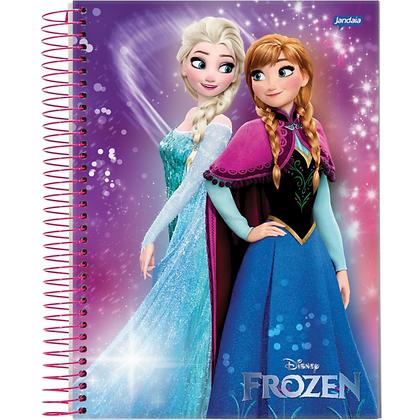Caderno Frozen 3 Jandaia 96fls