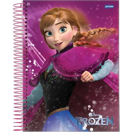 Caderno Frozen Jandaia 96fls