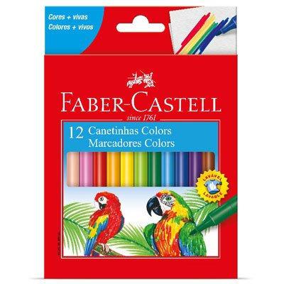 CANETINHAS - 12 CORES FABER CASTELL