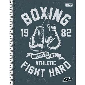 Caderno D+ Boxing Tilibra 80fls