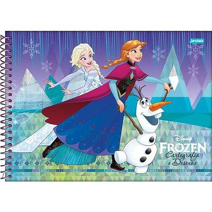 Caderno de Desenho Disney Frozen Olaf Jandaia 96fls