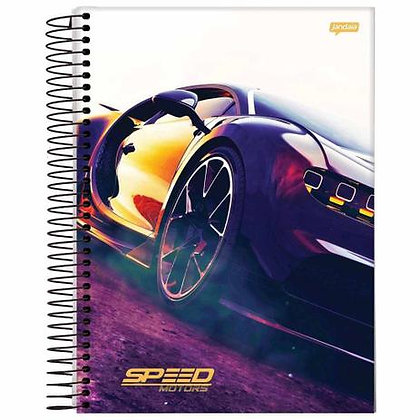 Caderno Speed Motors Jandaia 2 80fls