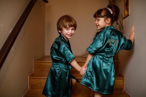 Robe Cetim Infantil