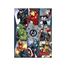 Caderno Brochura Tilibra 80fls Avengers Mod. 3