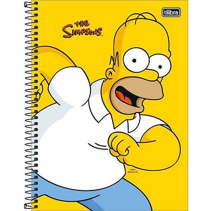 Caderno The Simpsons Tilibra HOMER 80fls