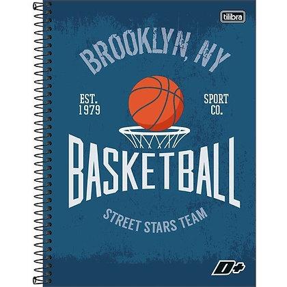 Caderno D+ Basketball Tilibra 96fls