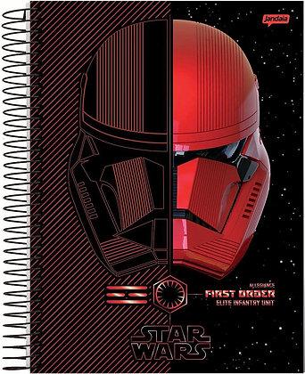 Caderno Star Wars Jandaia Supreme First Order 96fls