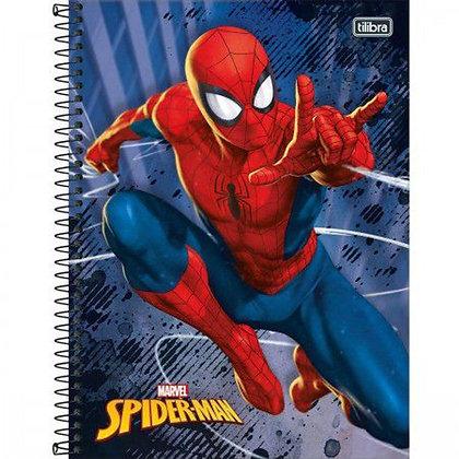 Caderno Spider Man Espiral 80f Tilibra