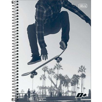 Caderno D+ Skate Tilibra 96fls