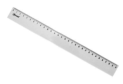REGUA 30cm ACRINIL