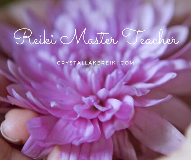 Reiki Master Teacher Class