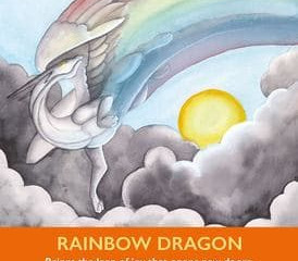 "What does a Rainbow Dragon and ""5 Steps to STOP Freaking Out"" have in common?"