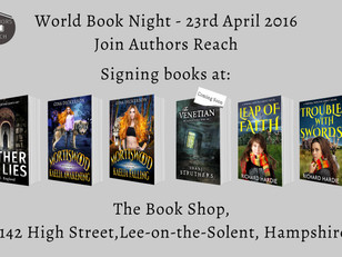 Signing books - 23rd April 2016