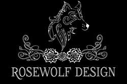 rosewolf design logo