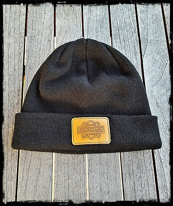 Bonnet SkinAss noir / SkinAss black knit cap