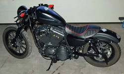 skinass - selles motos - harley sportster bis