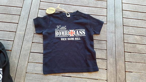 Baby Skinass tshirt little Bombass