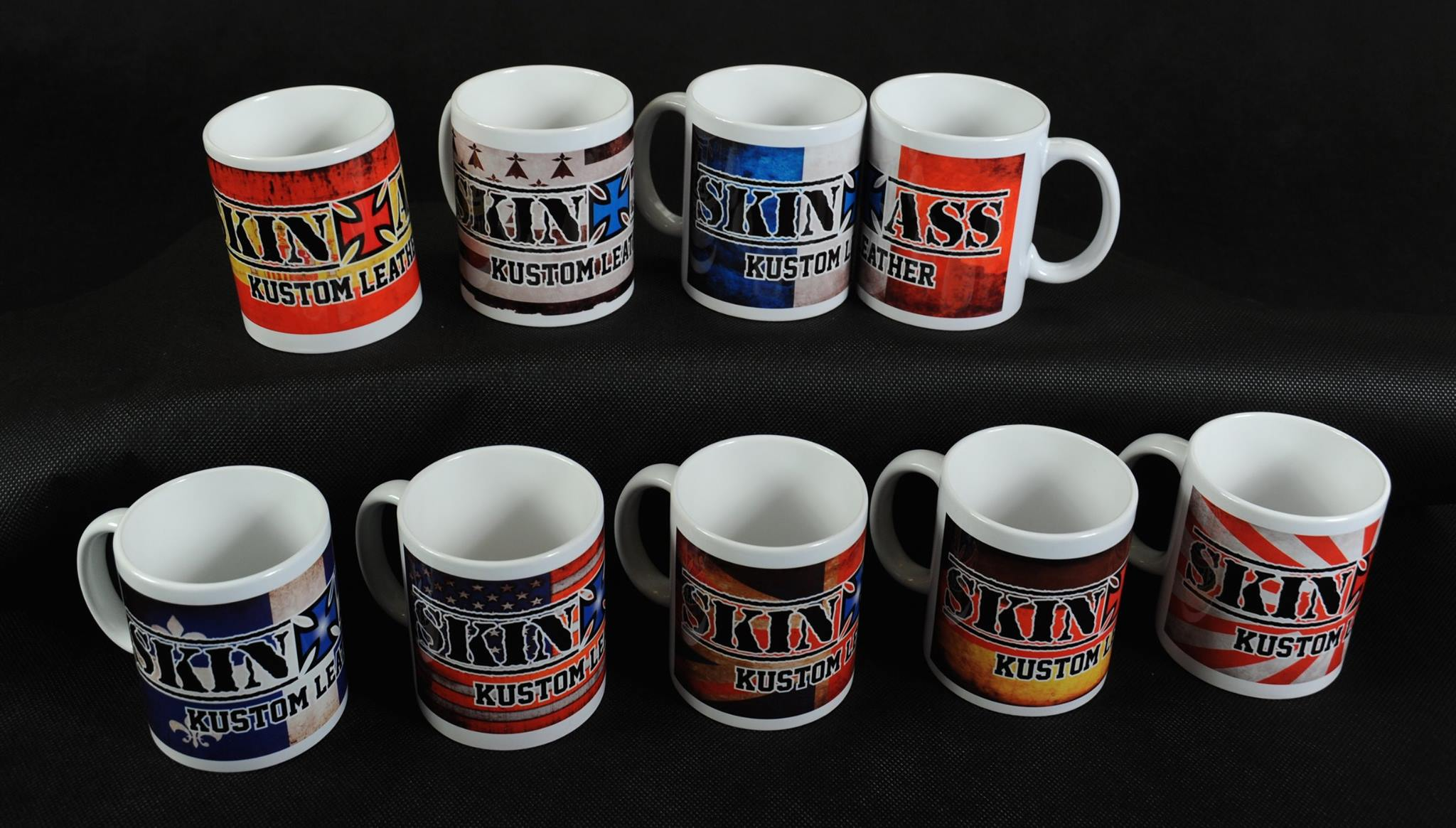 skinass - mugs - collection