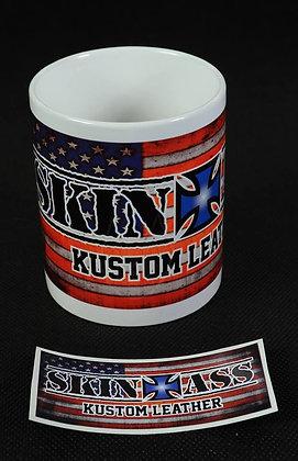 Mug SkinAss USA / SkinAss US mug