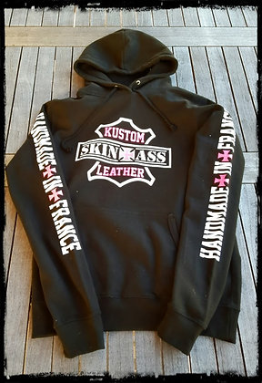 Sweatshirt Good noir et rose/  Black and pink Good sweatshirt