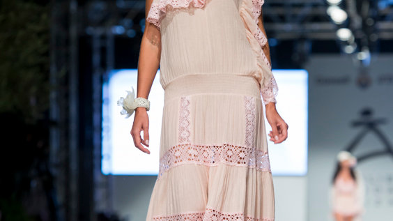 Vestido boho chic largo en adlib cotton