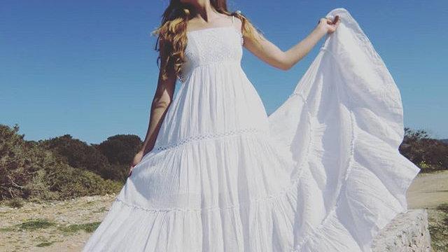 Vestido Betty Adlib Ibiza autentico hecho en Ibiza.
