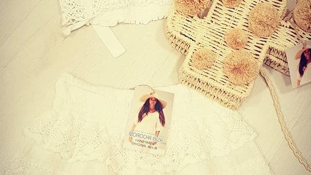 Lace romantic Ibiza shorts