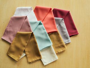 Los mejores colores para los individuales en tu boda.