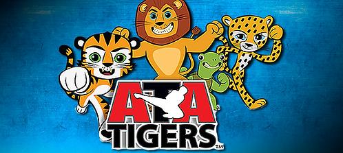 Ages 3-6 Taekwondo-ATA Tigers Beginners  2 week Trial