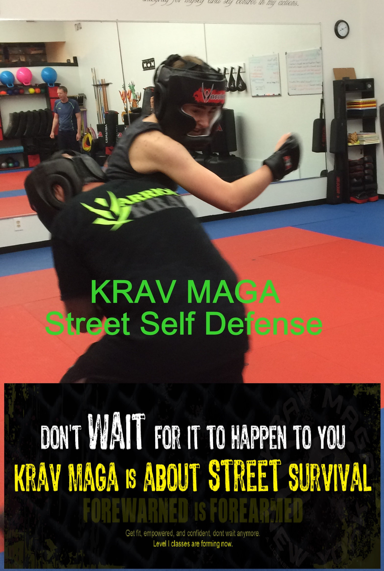 Self Defense New Member 3 class Special