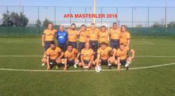 AFA MASTERLER 2016
