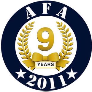 AFA 9 yaşında ...
