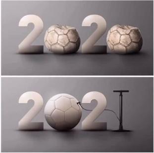 2020 yılında futboldan çok uzak kaldık. 2021 yılı futbol dolu bir yıl olsun. Herkese sağlık ve mutlu