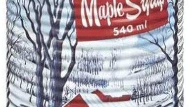 Sirop d'érable / Maple syrup   100% pur,  Cat.A 540 ml