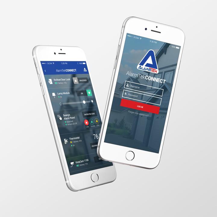 AlarmTek Home Security App