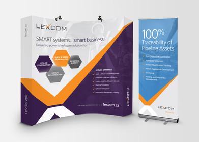 Lexcom Tradeshow Display