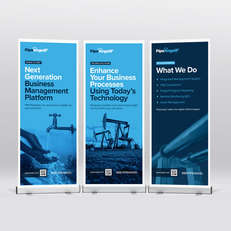 PipeAngel Roll-up Banners
