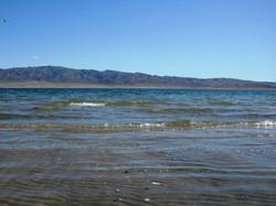 Пологий песчаный пляж