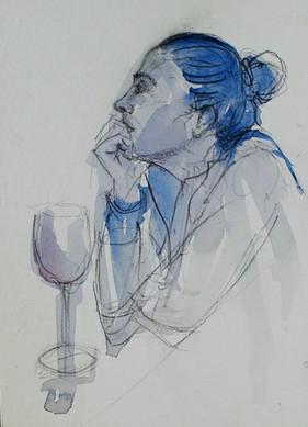 El vino de la espera