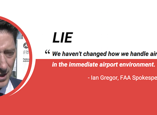FAA: Stop Lying and REVERT NOW!