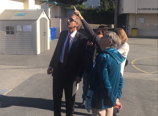 City Attorney Mike Feuer and KTLA visit Carpenter