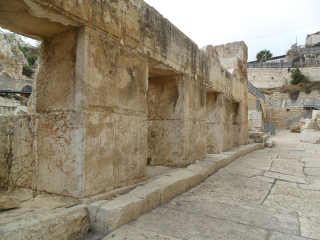 History of Jerusalem, part 3.  The formidable defenses of the Canaanites