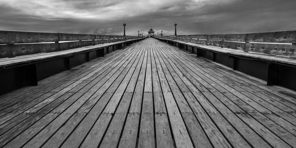 On Clevedon Pier