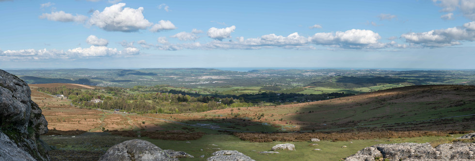 View from Haytor