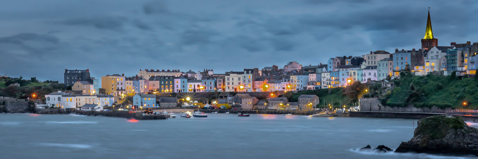 Tenby - Evening Gale