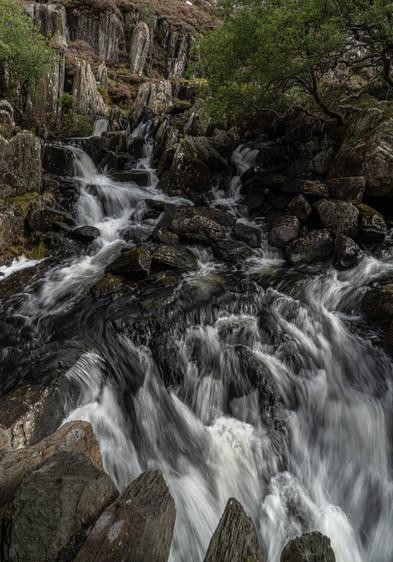 Falls by Ogwen Bridge